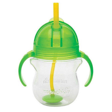 Munchkin Click Lock Tip & Sip Straw Cup - Green