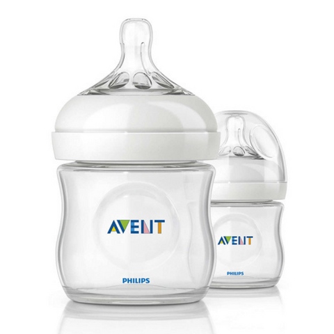 Philips Avent Natural Bottle 125ml (2 Bottles)