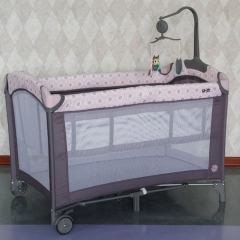 BP Playpen with Mosquito Net - (Pink)