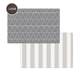 Parklon PURE Play Mat Size M (190) - Time Gray