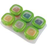 FoodAbout Baby Food Storage Container Set 6pcs Set