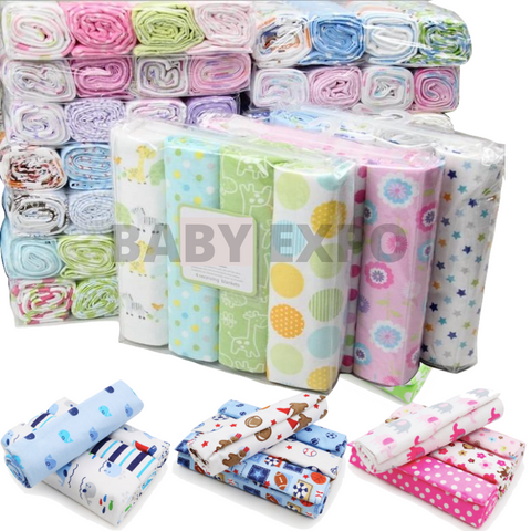 Baby 4pcs Flannel Blanket