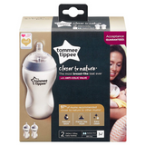 Tommee Tippee Closer to Nature Feeding Bottles 340ml (2 Bottles)