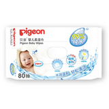 Pigeon Baby Wipes 99% Pure Water - 80s x 3 Packs