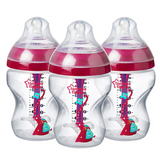 Tommee Tippee Advanced Anti-Colic Decorated 260ml (3 Bottles)