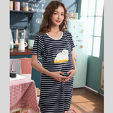 Maternity Nursing PJ Dress - PD006
