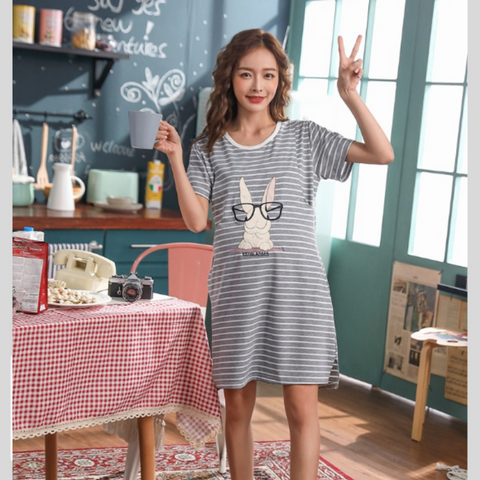 Maternity Nursing PJ Dress - PD007