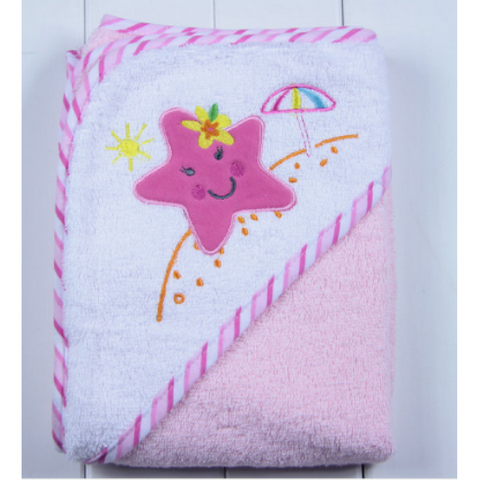 Baby Hooded Bath Towel (TDC003)