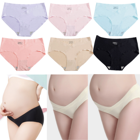 Maternity Panties - Ice Silk