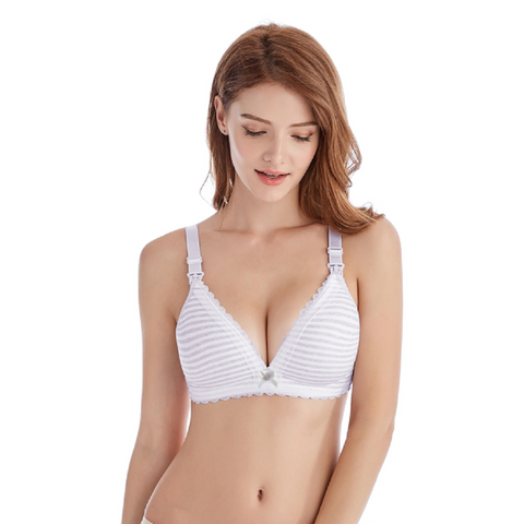 Maternity Nursing Bra - Stripes