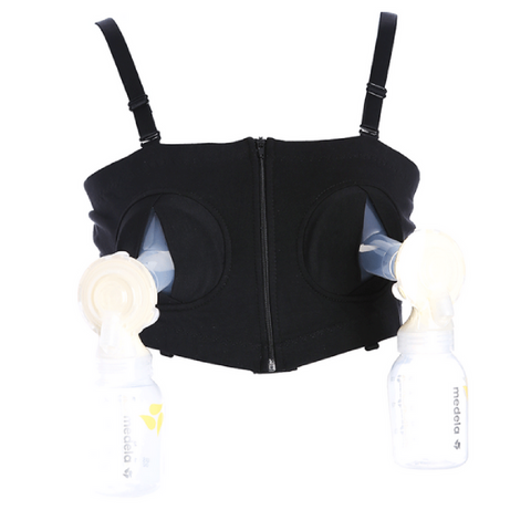 Maternity Handsfree Breast Pump Bra - Zip