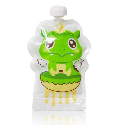 Dr Du Du Puree Storage Bags - Dragon