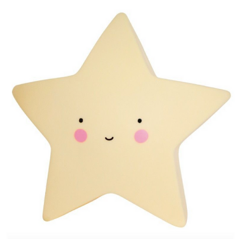 Baby Night Light - Stars (Yellow)