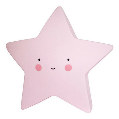 Baby Night Light - Stars (Pink)