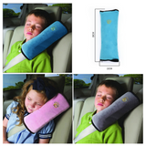 Kids Seat Belt Pillow - Grey