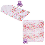 Baby 4pcs Flannel Blanket - CFB005