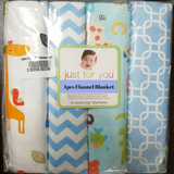 Baby 4pcs Flannel Blanket - CFB001