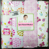 Baby 4pcs Flannel Blanket - CFB002