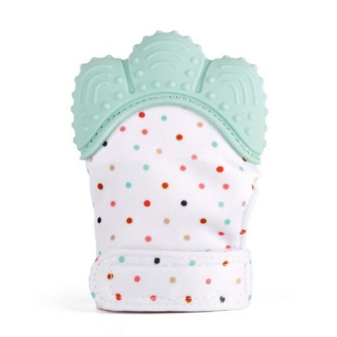 Baby Teething Mitten - Mint
