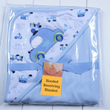 Hooded Receiving Blanket - (CT003)