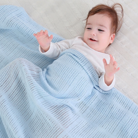 Baby Blanket (THM-Blue)