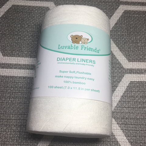 Biodegradable Diaper Liners (100 Sheet)