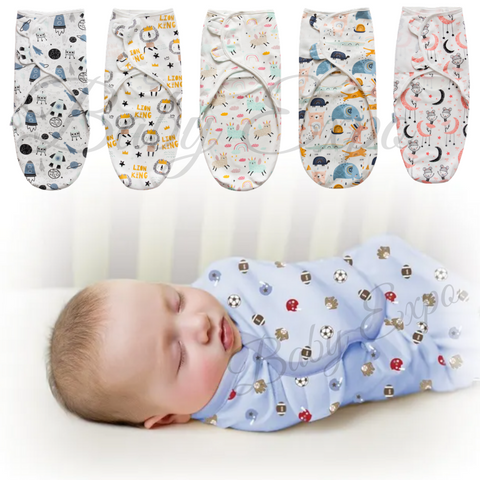 100% Cotton Breathable Newborn Baby Swaddle Wrap
