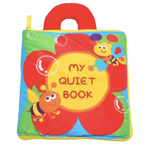 Toddler Soft Cloth Book - My Quiet Book