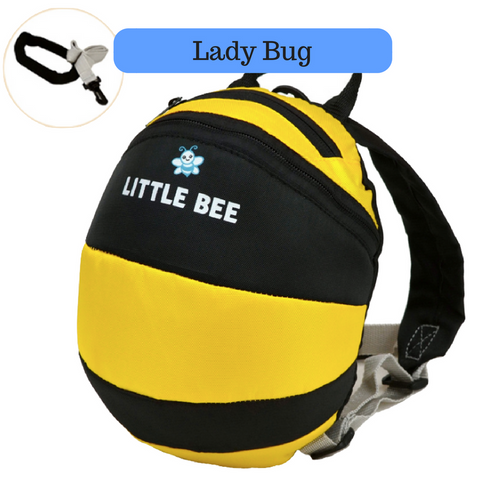 Toddler Backpack with Harness - Little Bee
