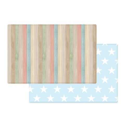 Parklon PURE Play Mat Size L (210) - Colourful Wood