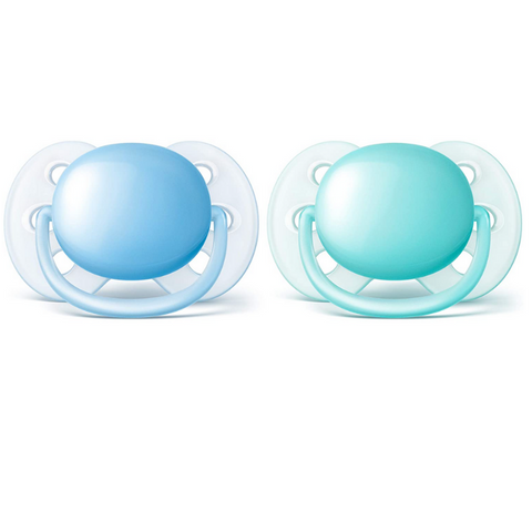 Philips Avent Ultra Soft Pacifiers 2pc (0-6m)