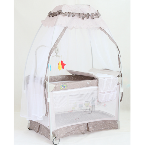 BP Premom Playpen - Brown