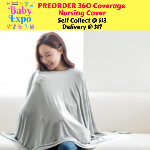 PREORDER 360 Coverage Nursing Cover