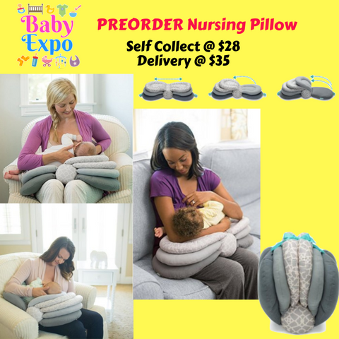PREORDER ETA 16-30 Jun 2019 - JJovce Nursing Pillow