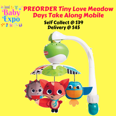 PREORDER Tiny Love Meadow Days Take Along Mobile