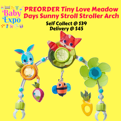 PREORDER Tiny Love Meadow Days Sunny Stroll Stroller Arch