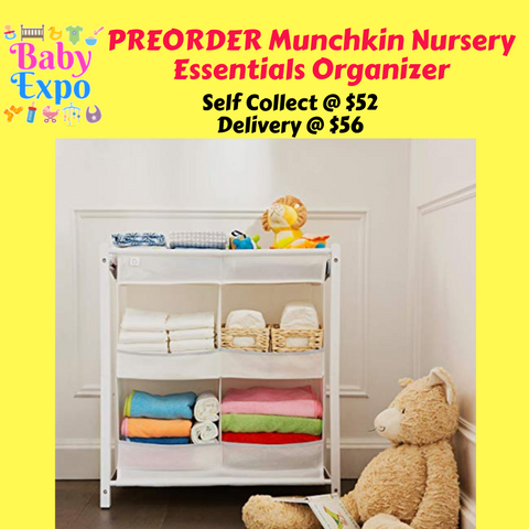 PREORDER ETA 1-15 Jun 2020 - Munchkin Nursery Essentials Organizer