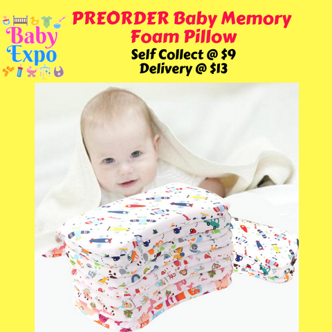 PREORDER Baby Memory Foam Pillow