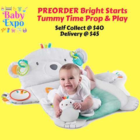 PREORDER Bright Starts Tummy Time Prop & Play