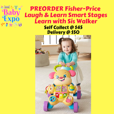 PREORDER Fisher-Price Laugh & Learn Smart Stages Learn with Sis Walker