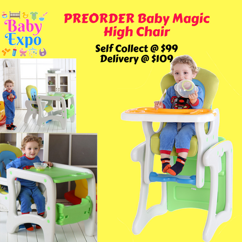 PREORDER Baby Magic High Chair