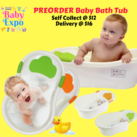 PREORDER Baby Bath Tub