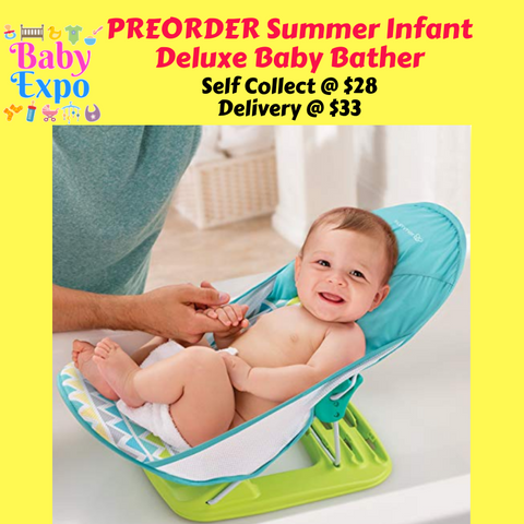 PREORDER Summer Infant Deluxe Baby Bather