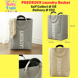 PREORDER Laundry Basket
