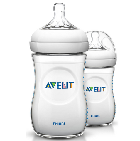 Philips Avent Natural Bottle 260ml (2 Bottles)