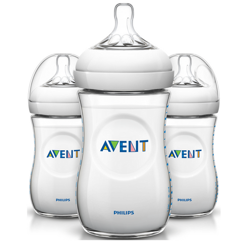 Philips Avent Natural Bottle 260ml (3 Bottles)
