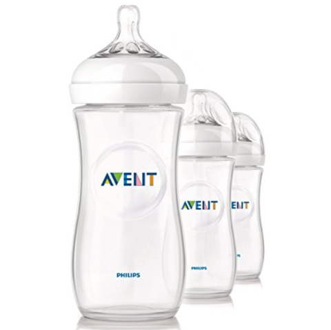 Philips Avent Natural Bottle 330ml (3 Bottles)