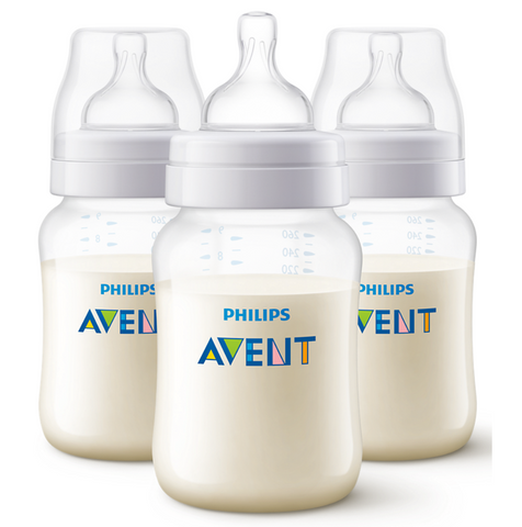 Philip Avent Classic+ 260ml Bottle (3 Bottles)