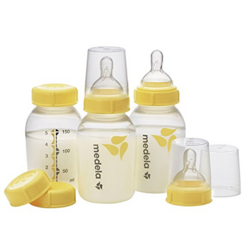 Medela Breastmilk Bottle Set with Teat 150ml (3 Bottles) - US Version