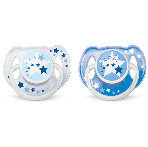 Philips Avent Classic Night Time Pacifiers 2pc (6-18m)